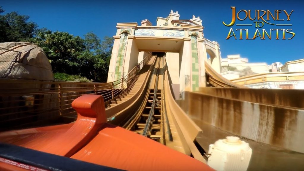 Journey to atlantis ride