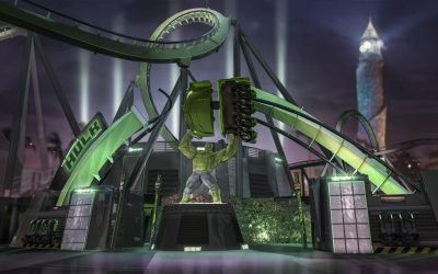 Incredible Hulk Coaster: Awesome Ride Facts