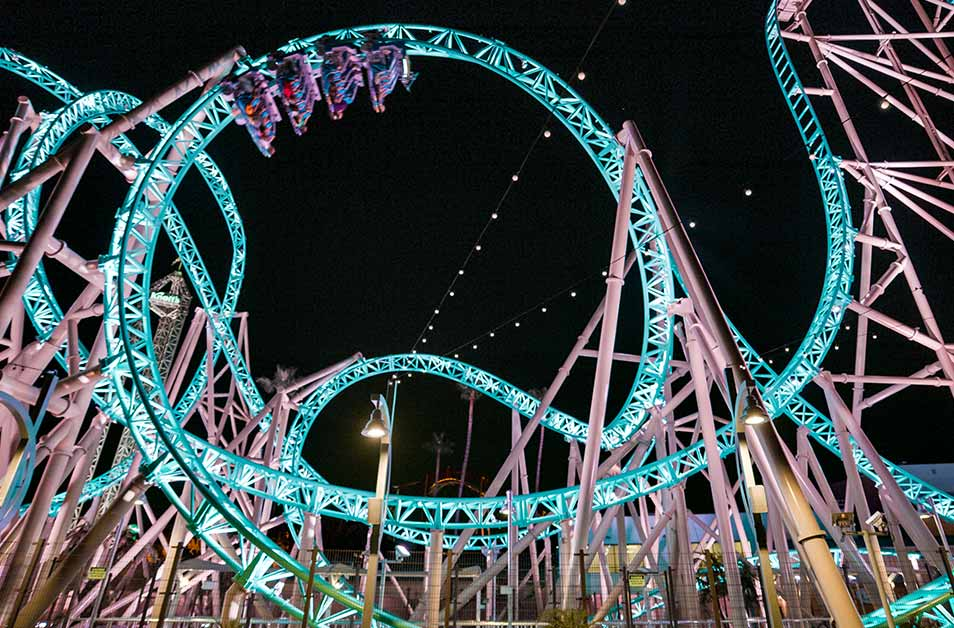 hangtime night shot